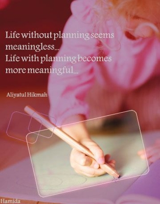 Get more meaningful life by making plan