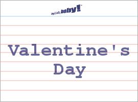 Vocabulary Word: Valentine's Day